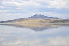 wielkie jeziora soli Zdjęcie Stock