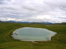wielkie jezioro Zdjęcie Stock