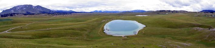 wielkie jezioro Zdjęcie Royalty Free