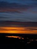 wielkie niebo wschód słońca Obrazy Royalty Free