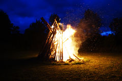 wielkie ognisko zdjęcia royalty free