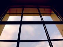 wielkie okna obrazy stock