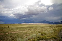 Wielkie piasek diuny, Nowe - Mexico, usa Zdjęcie Royalty Free