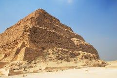 wielkie piramidy krok Fotografia Royalty Free