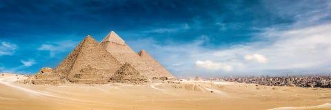 wielkie piramidy w gizie zdjęcia royalty free