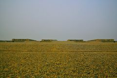 Wielkie ruiny Luoyang Zdjęcia Royalty Free