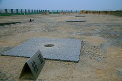Wielkie ruiny Luoyang Obraz Stock