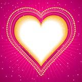 wielkie serce położenie Zdjęcie Stock