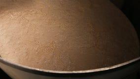 Wielkie stalowe bednie z fermentacją drożdże zdjęcie wideo