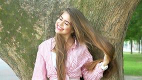 wielkie usta zębów biała kobieta uśmiechnięta zbiory