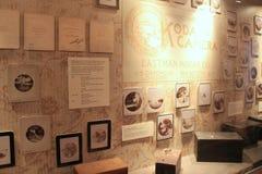 Wielkiego eksponata nakrywkowa historia kodak kamery, George Eastman muzeum, Rochester, Nowy Jork, 2017 obrazy royalty free