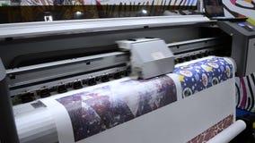 Wielkiego formata drukarki pracy zbiory wideo