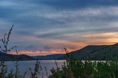 wielkiego halnego gór park narodowy dymiący wschód słońca Tennessee usa Zdjęcie Stock
