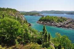 wielkiego jeziora przełożony fotografia stock