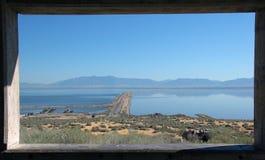 wielkiego jeziora sól Utah fotografia stock