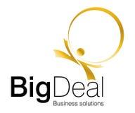 wielkiego logo Zdjęcie Stock