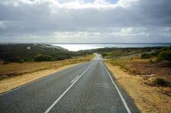 Wielkiego oceanu Drogowa trasa w Australia zdjęcie stock