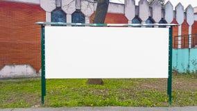 Wielkiego Pustego reklama sztandaru znaka ścinku ścieżki reklamy szablonu Miastowy Jawny Biały Odosobniony egzamin próbny W górę fotografia royalty free