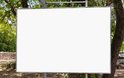 Wielkiego Pustego reklama sztandaru znaka ścinku ścieżki reklamy szablonu Miastowy Jawny Biały Odosobniony egzamin próbny W górę zdjęcia royalty free