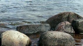 Wielkiego round kamieni gładcy głazy zdjęcie wideo