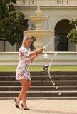 Wielkiego Szlema mistrz Angelique Kerber Niemcy odświętności zwycięstwo przy australianem open 2016 Zdjęcie Royalty Free