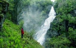 wielkiego wodospadu Obrazy Royalty Free