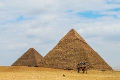 wielkiej piramidy Zdjęcia Royalty Free