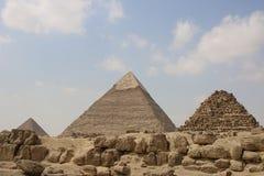 wielkiej piramidy w gizie Egipt Obraz Stock