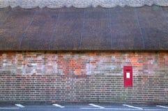 wielkości ściana strzechą chata Obrazy Royalty Free