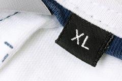 wielkościowy xl Fotografia Stock