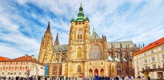 Wielkomiejska katedra święty Vitus, Wenceslaus Fotografia Stock