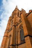 Wielkomiejska katedra St. Mary Zdjęcia Royalty Free