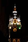 Wielkomiejska Katedralna bazylika święty Catherine Aleksandria w Cartagena De Indias przy nocą Fotografia Royalty Free
