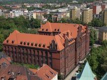 Wielkomiejski alumnat w Wrocławskim Zdjęcia Royalty Free