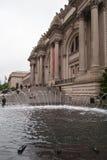 Wielkomiejski muzeum, NYC Obrazy Royalty Free