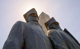 Wielkopolska Uprising Monument. Low angle Royalty Free Stock Image