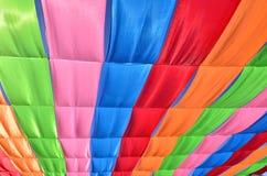 Wielo- barwiona flaga Zdjęcia Royalty Free