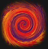 Wielo- barwiona kółkowa załogi spirala royalty ilustracja