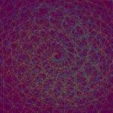 Wielo- barwiony fractal Zdjęcia Royalty Free