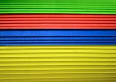 Wielo- colour papieru tło Zdjęcie Royalty Free