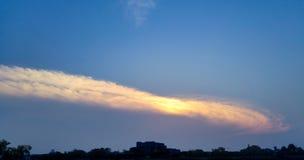 Wielo- kolor chmury Obraz Stock