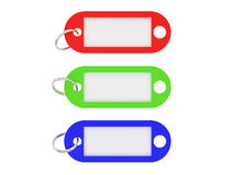 wielo- kolorowe etykiety Zdjęcie Stock