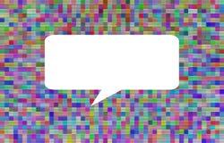 Wielo- koloru abstrakcjonistyczny tło z przestrzenią Obraz Royalty Free
