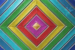 Wielo- koloru drewno Obraz Stock
