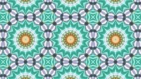 Wielo- koloru kalejdoskopu wzór z abstrakta krzyżem ilustracji