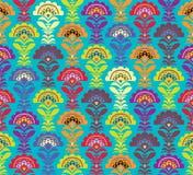 Wielo- koloru Retro wzór. Wektorowy formate Obrazy Royalty Free