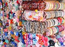 Wielo- koloru tasiemkowy łęk Zdjęcia Royalty Free