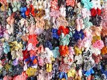 Wielo- koloru tasiemkowy łęk Obrazy Stock