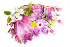 Wielo- kwiaty obrazy royalty free