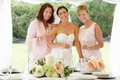 Wielo- pokolenie kobiety Przy ślubem Zdjęcie Stock